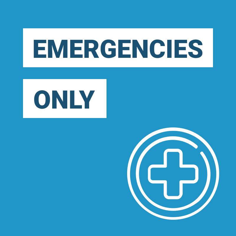 Dental Emergencies Only