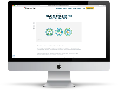 RevenueWell COVID-19 Resources Page